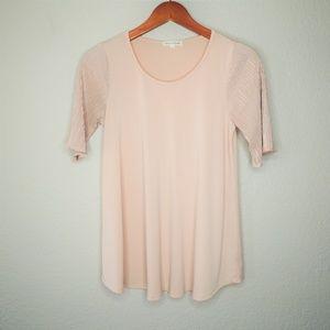 Stevie Hender Blush Pink Blouse